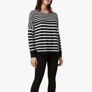 New French Connection Soft Striped Sweater Size M